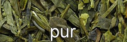 Grüner Tee pur