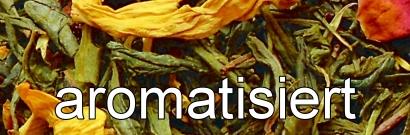 Aromatisierter grüner Tee