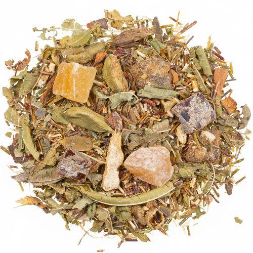 Datteltee natürlich (warme Füße Tee) mit Orangen-Passionsfrucht-Note