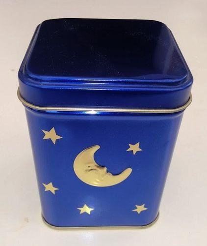 Tee Dose Mond und Sterne blau ca. 100 gr.