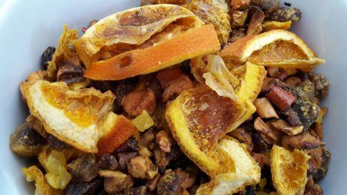 Ingwer Mandarine Früchtemischung