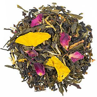 Orientalische Träume Teemischung mit Blüten und Fruchtstücken, aromatisiert
