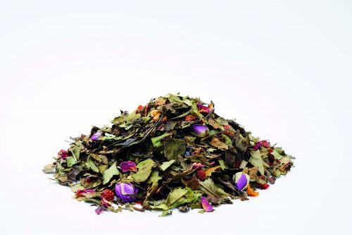 Weißer Tee Weiße Rose