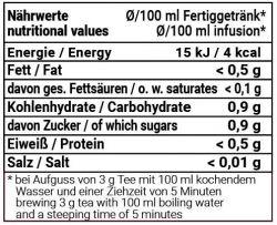 Orientalische Kostbarkeiten mild - Früchtemischung mit Lichee-Lemon-Geschmack