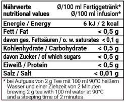Weisse Kirsche - weiss/grüner Tee mit Sauerkirsch-Geschmack