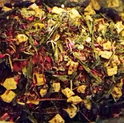 Pflaume Zimt - Grüner Tee