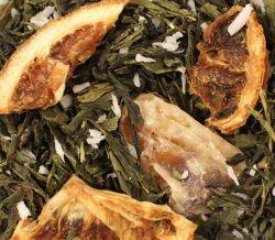 Mandarinenwölkchen -Grüntee aromatisiert
