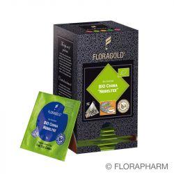 China Nebeltee Bio Grüntee im Pyramidenbeutel Box von Floragold